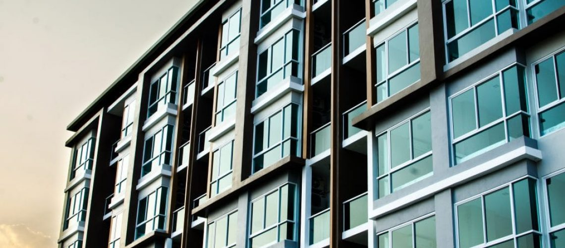 blocks of houses under management